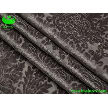 Tissu de canapé en polyester brûlé (BS4034)