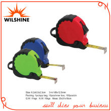 Most Popular Steel Gift Tape Measure Covered with Rubber (TM388)