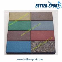 Rubber Tile, Safety Rubber Tile, Dogbone Rubber Tile