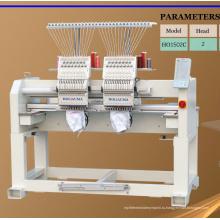 2 головки вышивки машины вышивки sequin высокого качества 15 компьютеризированная вышивальная машина