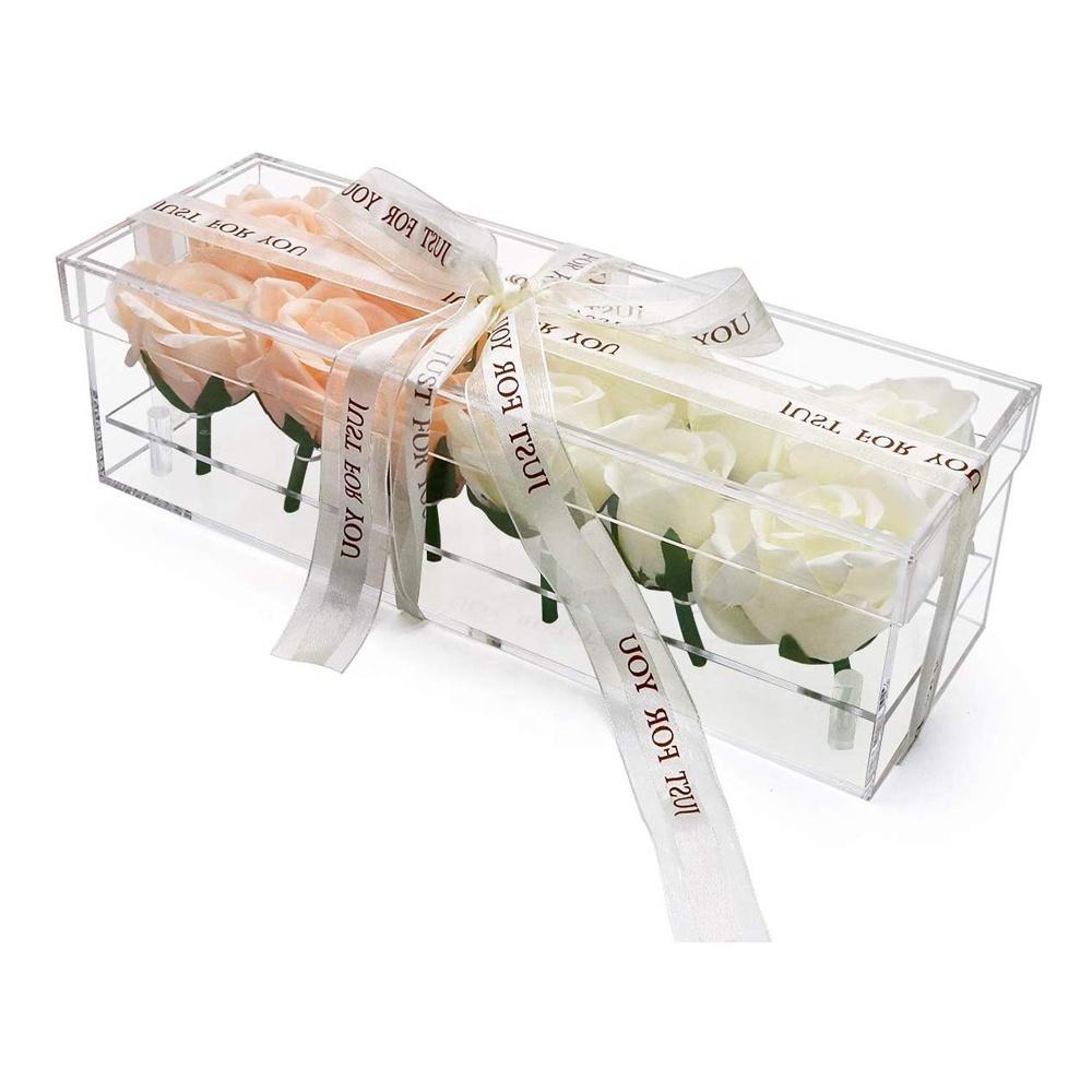 Lucite Flower Boxes 12 Slots