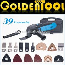 39pcs 220w Handheld Multifunction Electric Power Vibrating Oscillating Tool