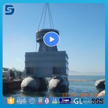 Globo de goma de alta capacidad de carga para el lanzamiento de embarcaciones