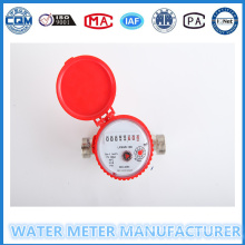 Metal Body Water Meters Single Jet Cold Hot Water