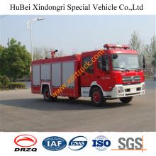 7ton Dongfeng Dfl1160bx5 Coche de bomberos de agua Euro4