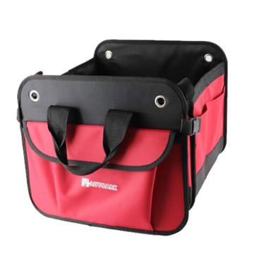 Car back seat organizer bag for kids