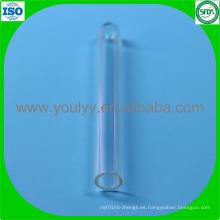 Tubo de ensayo de vidrio de 6 mm y 50 mm