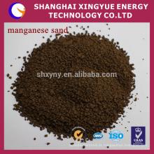 25-50% de minério de manganês filtro de areia fornecedor de porcelana