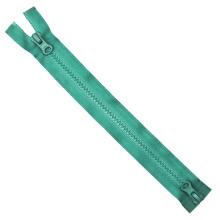 Dos deslizadores # 5 Zippers de plástico Open End Auto Lock