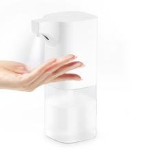 Distributeur de savon à capteur automatique 350 ML Machine de lave-mains à alcool de support sans contact à induction intelligente