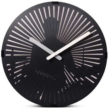 Moving Wall Clock- Drumming 2
