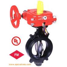 UL / FM, Válvula Borboleta Tipo Sulcado Ulc