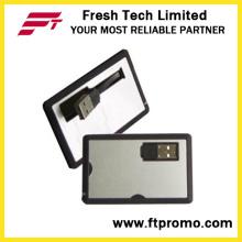 Custom Credit Card Style USB Flash Drive (D602)