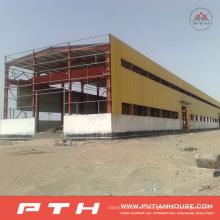 Almacén de estructura de acero bajo costo industrial prefabricado de diseño bajo costo