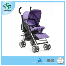 Foldable Baby Stroller with 360 Rotating Wheels Adjustable Footrest (SH-B13)