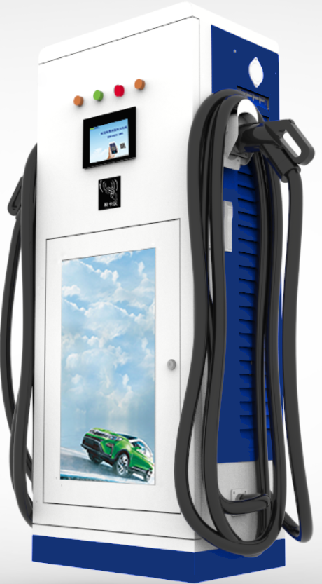 DC Smart Screen Scanning Code Fast EV Charger 300KW