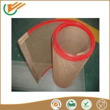 teflon coating insulation materials bull nose or metal claps Buckle transmission conveyor belts