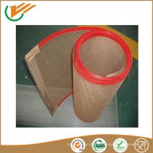 Резиновая лента конвейера тефлон открытая сетка ремень морозильник сетчатый ремень