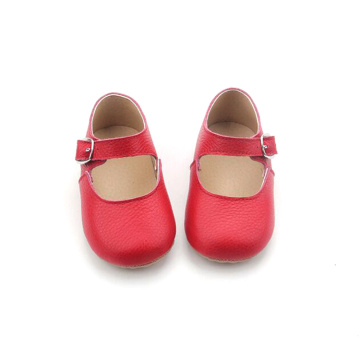 Kulit Lembut Bayi Formal Girls Mary Jane Shoes