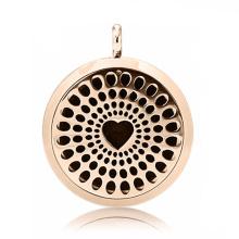 wholesale aromatherapy oil loket pendant diffuser necklace
