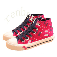 Hot New Sale Fashion Children′s Casual Canvas Shoes