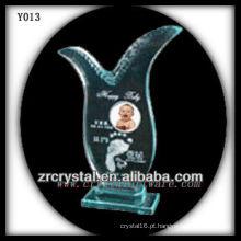 Impressão colorida foto cristal Y013