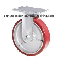 PU Casting Aluminium K6 Kingpin Weniger Heavy Duty Caster Swivel