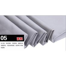 Tecido de Workwear geral de sarja de algodão poliéster cinza