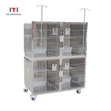 MT Hospital Furniture Modular Kennels Stainless Steel Cages Veterinary Hospital Cage for Dog