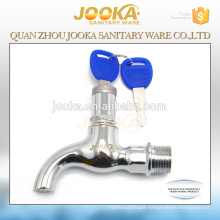 Factory new product water tap zinc alloy bibcock with lock in Quanzhou
