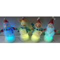 Crack Series LED Christmas Snowman and Santa