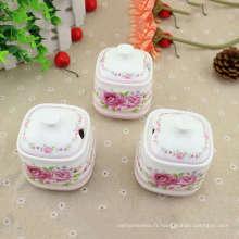 Ensemble de thé russe en céramique Logo personnalisé