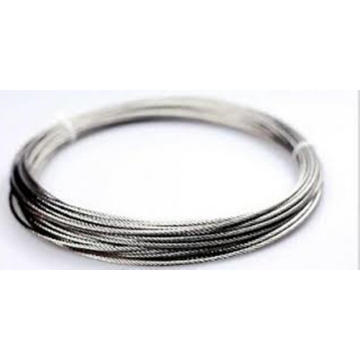 304 câble métallique en acier inoxydable 1x7 3.0mm