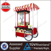 Heißes Verkaufs-Berufsschnellimbiss-elektrisches mit Radmaschinenpopcorn