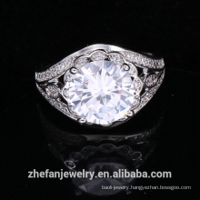 wholesale jewelry supplies china big round shape ring wedding accessories