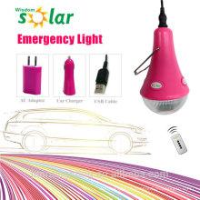 Energia recarregável, luz de emergência LED Lâmpada portátil de poupança