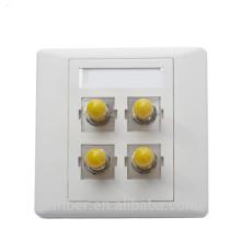 FBT 4 порта ST simplex Волоконно-оптическая лицевая панель / клеммная коробка
