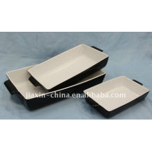 """10"""" / 13"""" /15"""" rectangle oven plate smooth"""