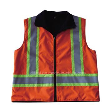Veste chaude pour corps de sécurité à haute visibilité (DPA029)