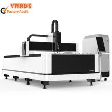 Découpeuse de laser de fibre 1000W pour la tôle