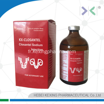 Animal Closantel Sodium Injection