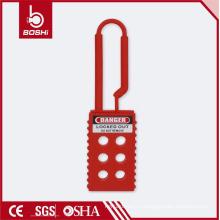 BOSHI BD-K41 Непроводящая блокировка нейлона Hasp с 6 отверстиями, приемлемая для OEM