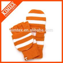 Acrylic knit crochet pop top glove