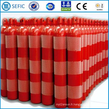 Cylindre industriel de gaz de CO2 d'acier sans couture de 50L (EN ISO9809)