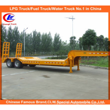 Heavy Duty 2 Axle Low Boy Trailer Lowloader Semi Trailer