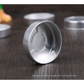 hearted shape aluminum tealight cups empty metal candle cup