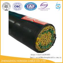 Cable de control aislado KVV del cable de la base multi de 1.5sqmm 2.5sqmm 450 / 750V PVC