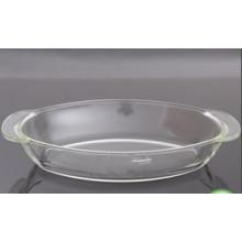 1.5L Овальная печь Безопасное пирожное для пирогов Pyrex