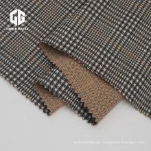 Tecido jacquard de náilon rayon spandex com padrão xadrez
