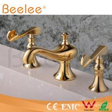 Robinet de baignoire romaine à deux poignées style européen Q30203G
